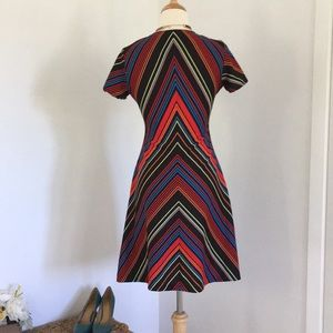 Vintage Dresses - Vintage stripe dress